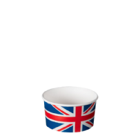 TYPE 80 90ml Ice Cream Cup - Union Jack